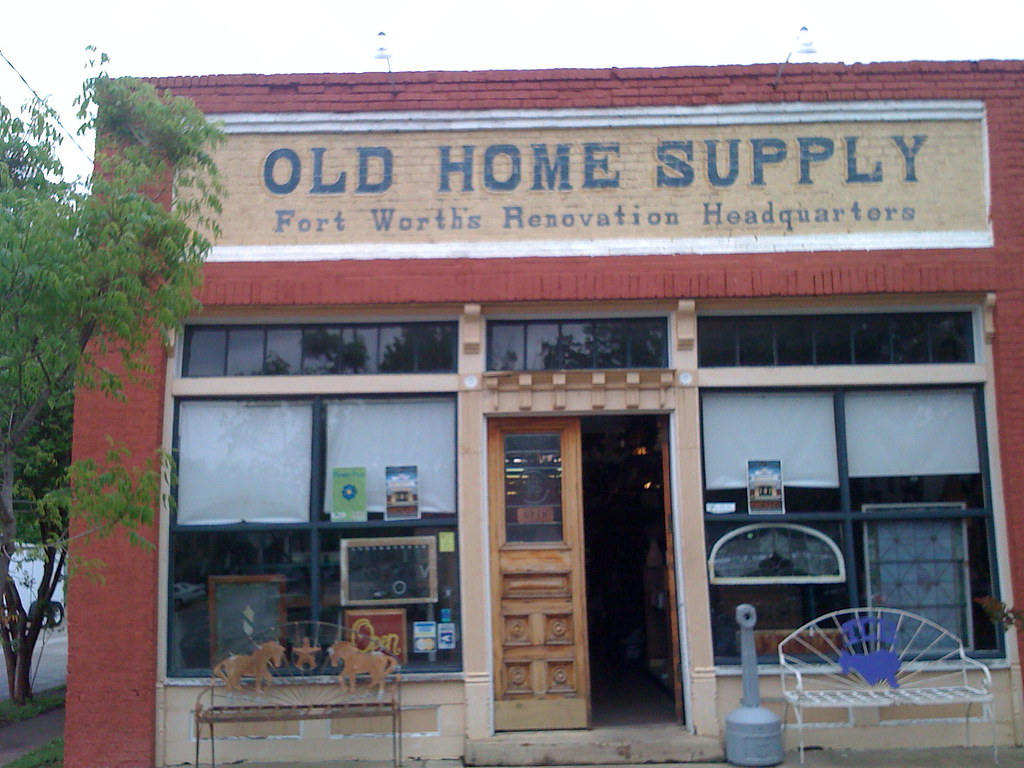 Old Home Supply Ft Worth Tx We Specialize In Architec Flickr