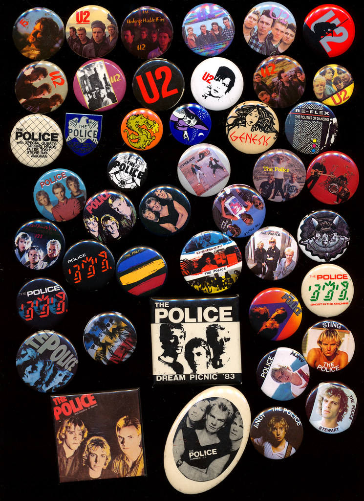 my 1980s buttons