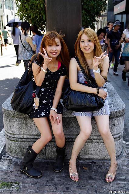 Japanese Summer Street Fashion