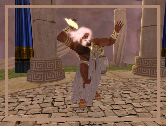 Olympian Deities - Zeus   Zeus throwing some lightning ...
