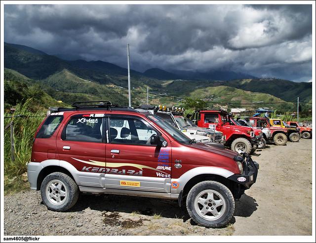 Pesta Kubis Kundasang 2009 Kundasang 4x4 Challenge Per