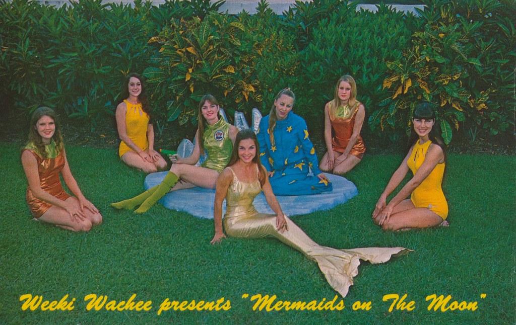 Weeki Wachee Presents Mermaids On The Moon