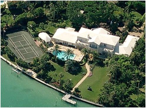 Star Island Miami Map