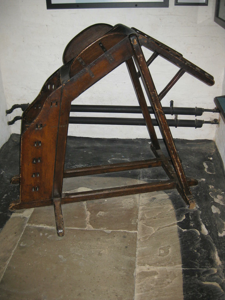 A Birching Stool Recalcitrant Individuals In Victorian