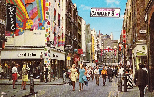 Carnaby Street London 1960s | by hmdavid