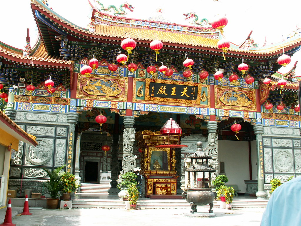 Old Chinese Temple In Klang Selangor Malaysia Balance B