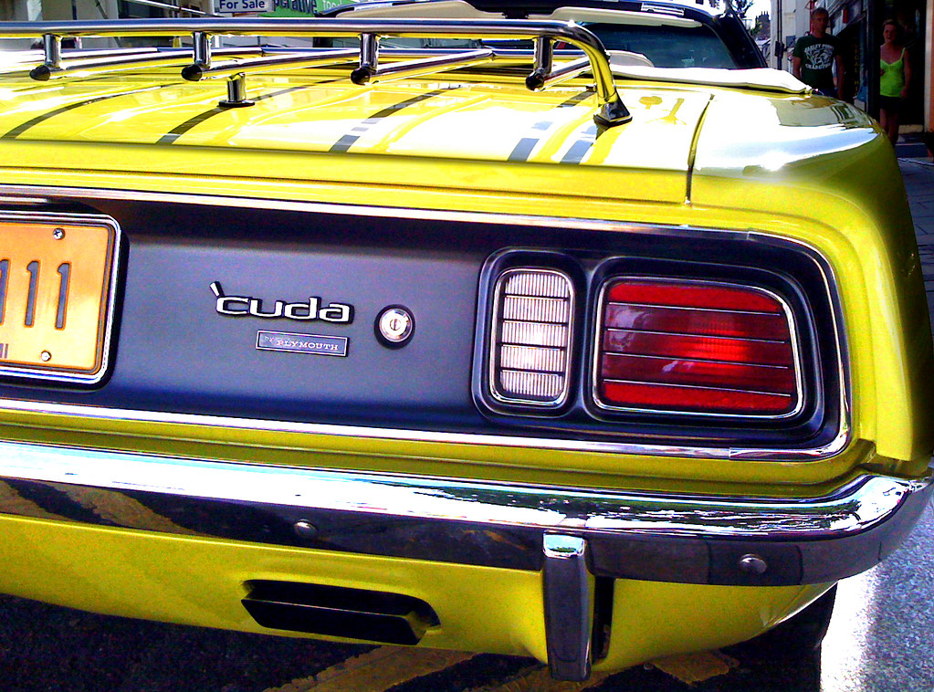 """Car Tail Lights >> Plymouth Barracuda - Tail Lights 