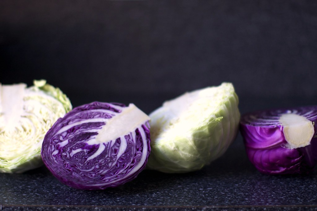 red and green cabbage | Cabbage and Lime Salad with ...
