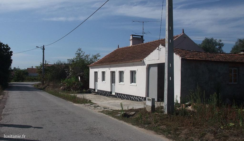 Maison de village au Portugal
