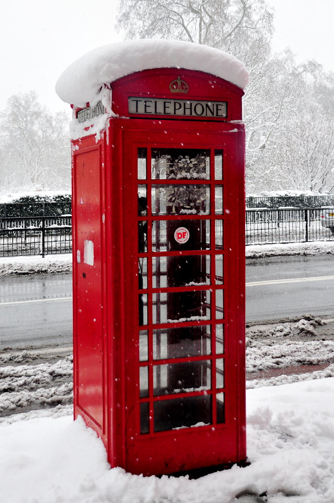 Red London Telephone B...