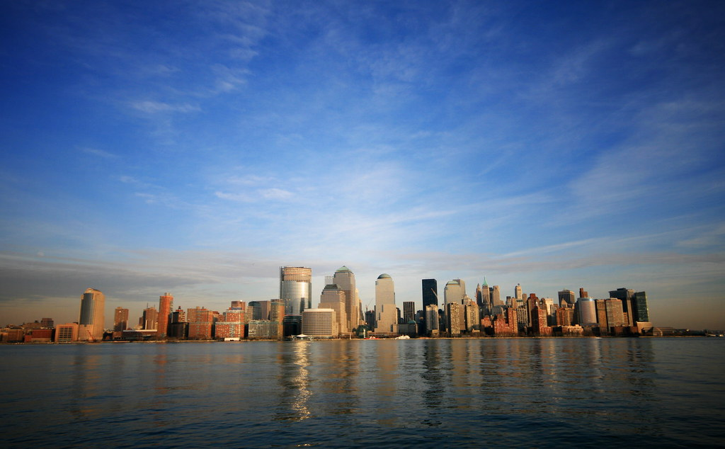 Downtown manhattan new york skyline desktop wallpaper ed - New york skyline computer wallpaper ...