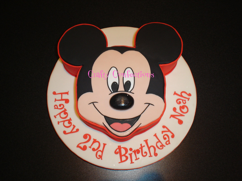 Pictures Of Mickey Mouse Face Cakes : Mickey Mouse Face Cake This is a Mickey Mouse version of ...