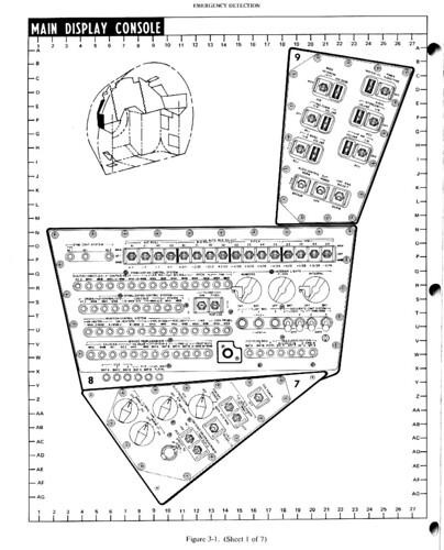 apollo 11 lt lem control panel