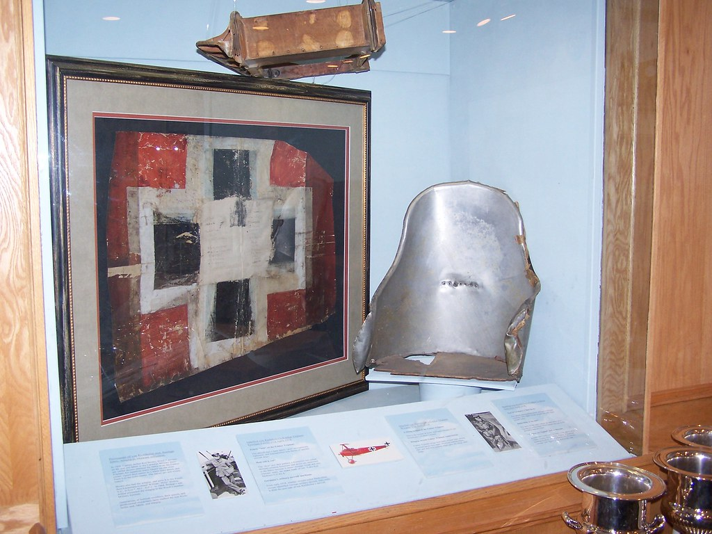Artifacts From Red Baron S Fokker Biplane The Upper