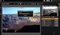 Screenshot: LightZone on a netbook by oledoe