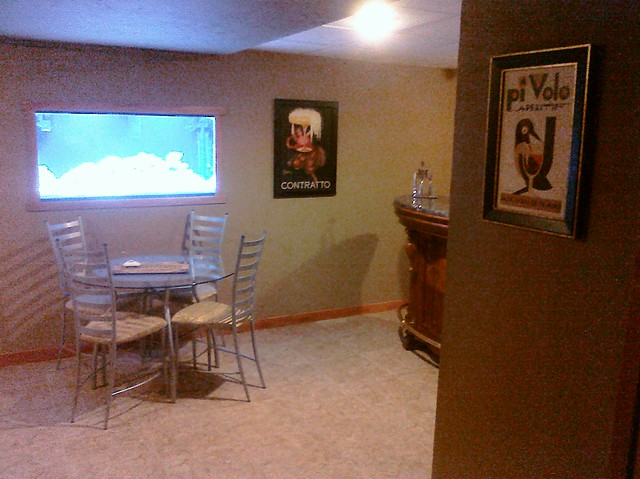 Basement Bar Family Room Cigar Ventalation