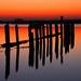 Posts At Sunset