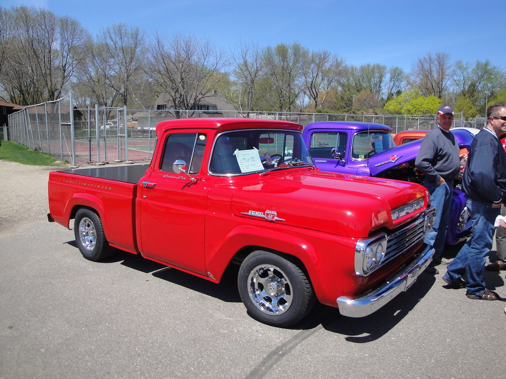 New Ford Trucks >> 59 Ford F-100 Pick-up Truck | Willmar Car Club willmarcarclu… | Flickr