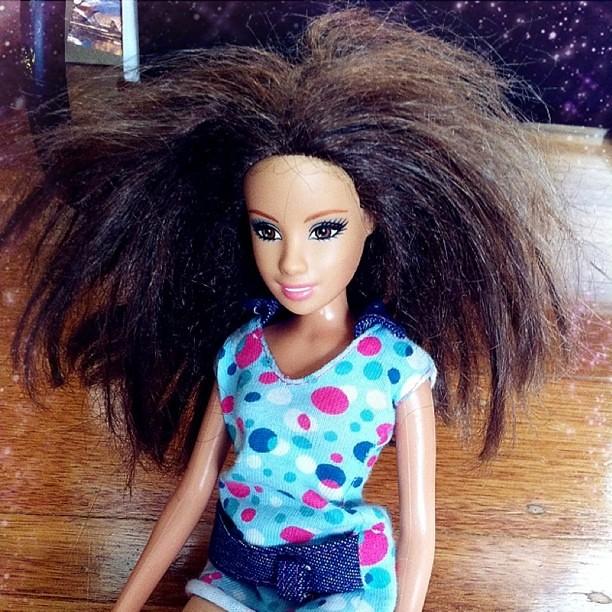 Barbie Bad Hair Day: Bad Hair Day #iphonesia #barbie #badhair #hair
