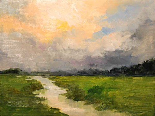 Oil Landscape Painting Beginners Tutorial