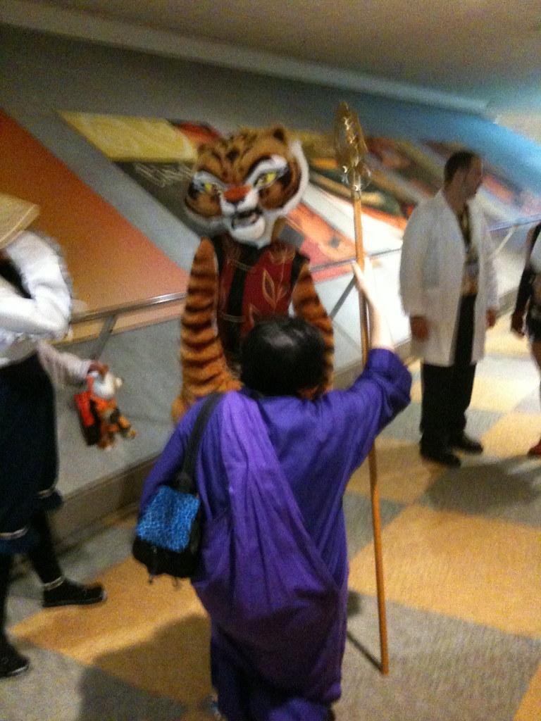 Kung fu panda tiger - photo#28