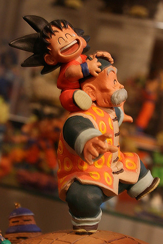 DragonBall Capsule  Memories - Goku and Gohan | by Blacksmith 鍛冶