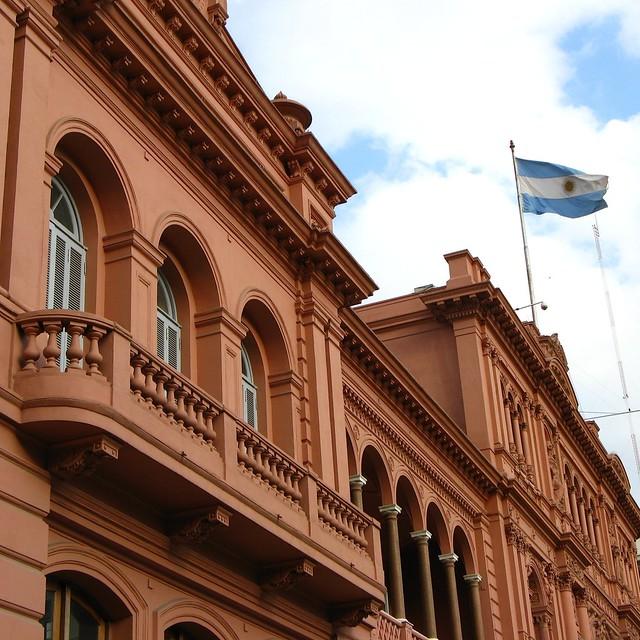 Evita's Balcony | This is the Casa Rosada balcony where ...