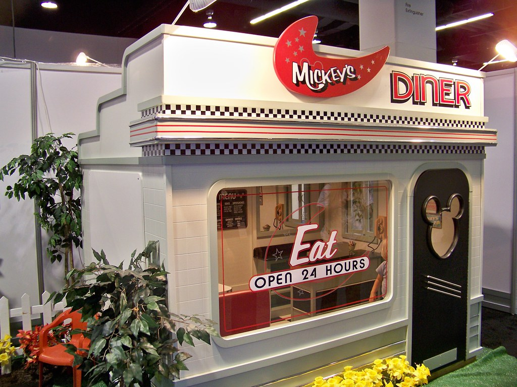Mickey's Diner Disney Playhouse at the Lilliput Play Homes ...