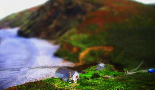 Millook beach, Cornwall tilt-shift | by Byrnsey
