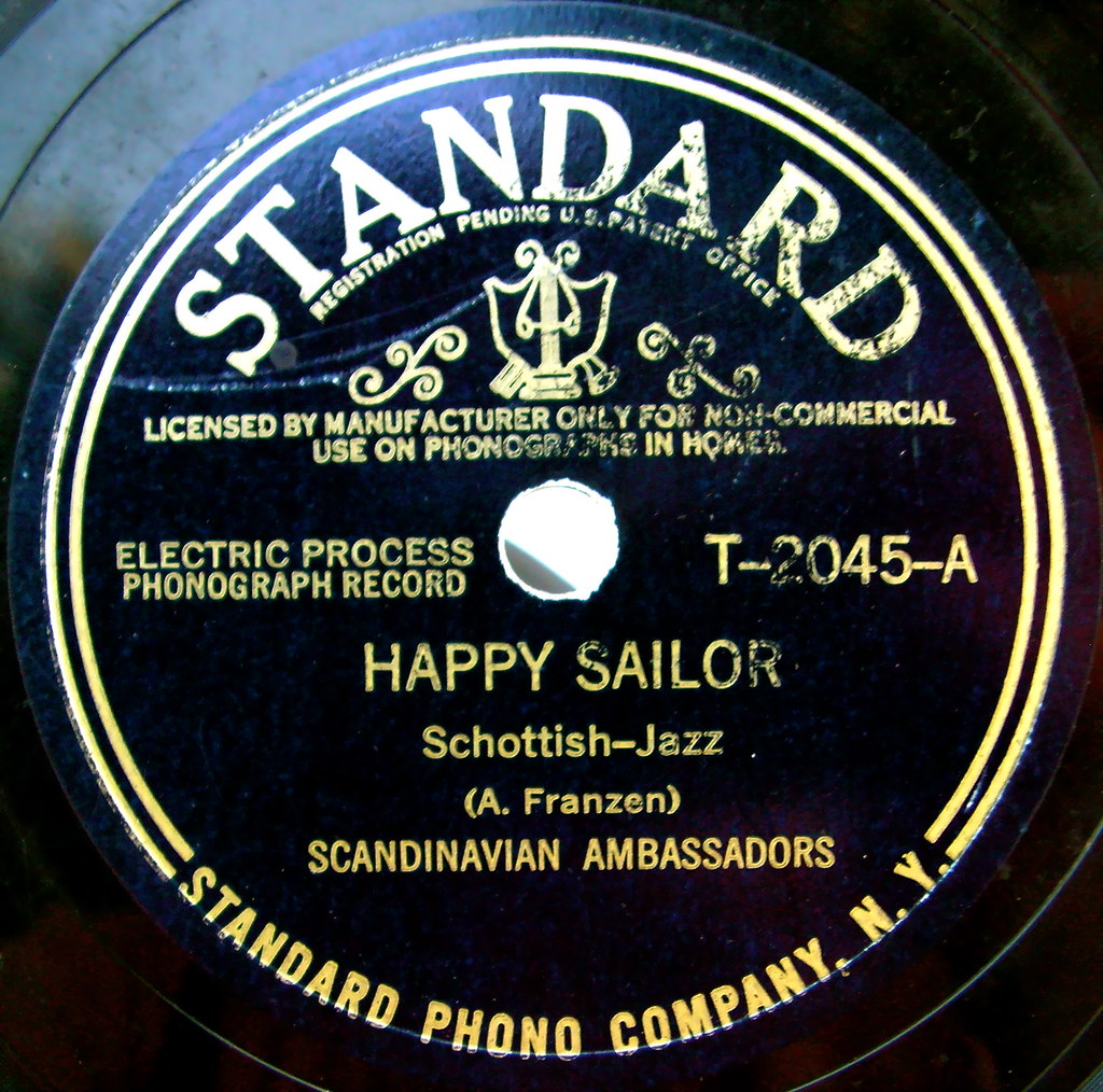 Standard vintage record label sally mcburney flickr for Classic house record labels