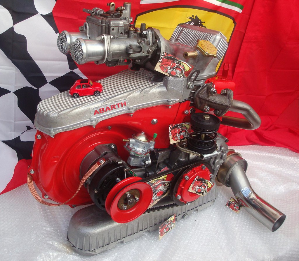 Fiat Abarth 695 Ss Engine Ricambi Fiat 500 Flickr