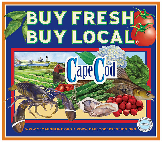 Cape Cod Buy Fresh, Buy Local Campain Logo