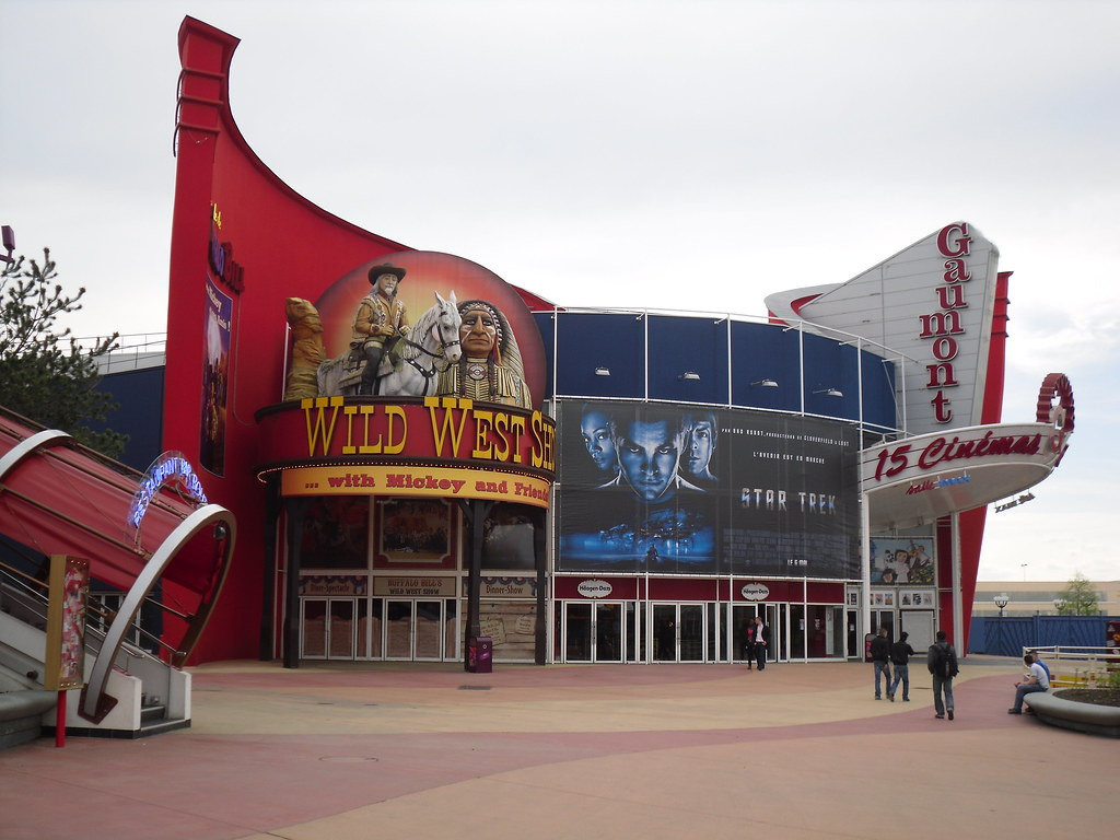 the gaumont cinema and the wild west show on the boardwalk flickr. Black Bedroom Furniture Sets. Home Design Ideas