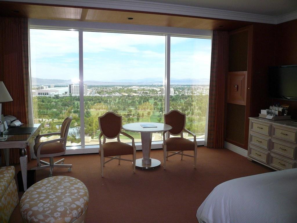 Hotel Room Window : Hotel room window wynn las vegas july feel free to