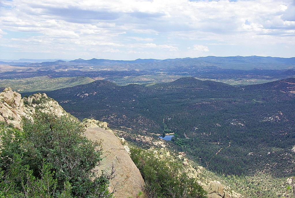 Looking Northeast From Vista Point Granite Mountain Pr