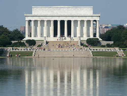Lincoln Memorial from the WWII Monument | by Patrick Dirden