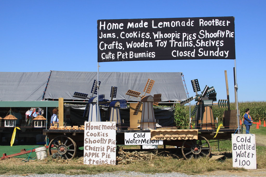 Amish Homemade Products Vendor in Strasburg PA