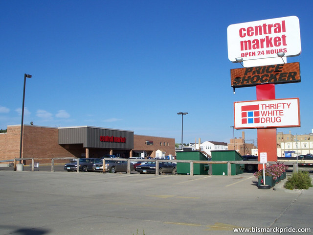 Central market grocery store amp thrifty white drug mandan flickr