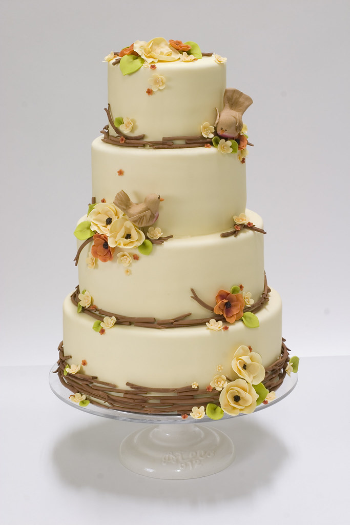 wedding cake nature autumn nature wedding cake for more cakes visit www 23298