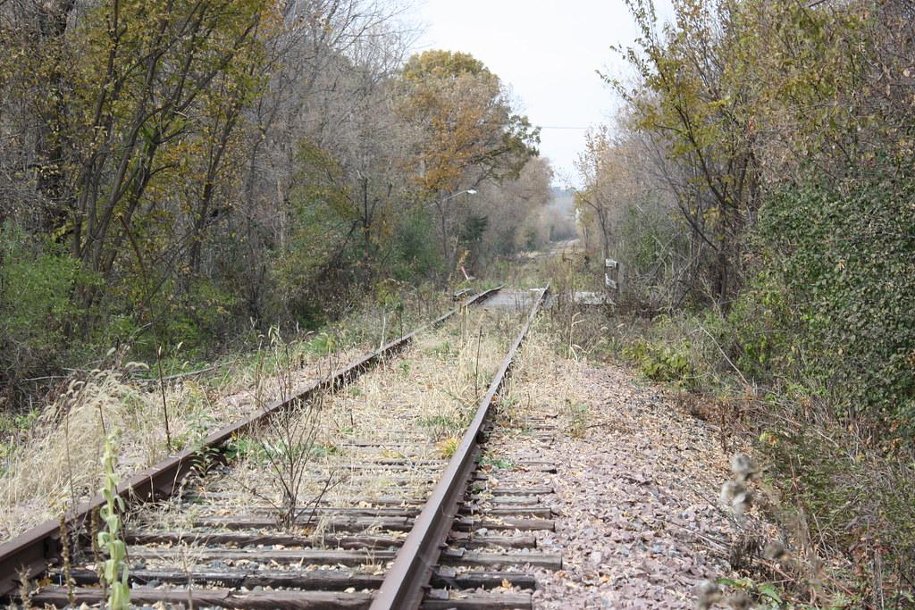 Abandoned Railroad Tracks Railroad Tracks In Savage Mn