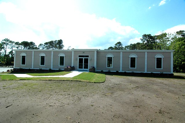 Seven plex modular church building rose office systems for Modular 4 plex