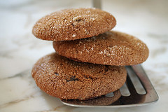 non-fat gingersnaps | by David Lebovitz