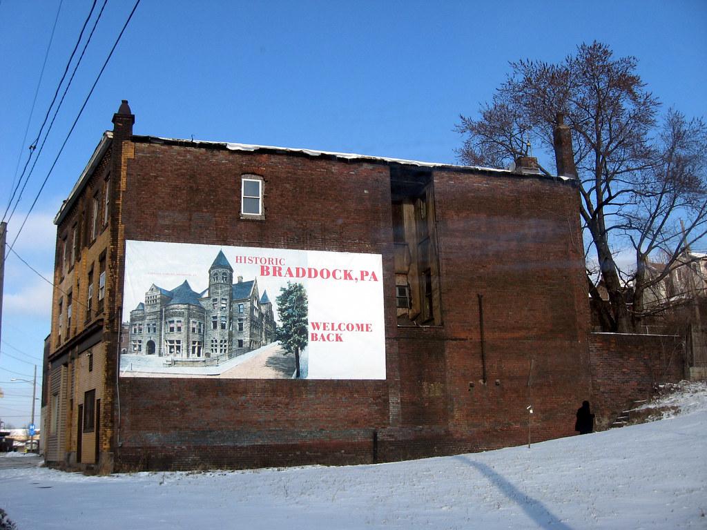 Braddock Pa Historic Braddock Braddock Avenue Joe