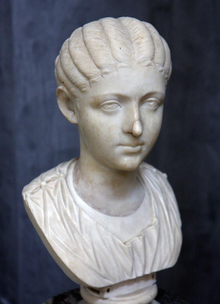 Plautilla Wife Of Caracalla Portrait Of Fulvia