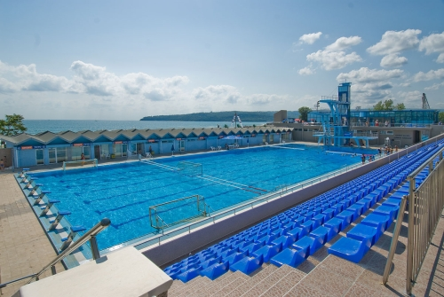 Olympic Size Swimming Pool And Spa Swimming Complex Varn Flickr