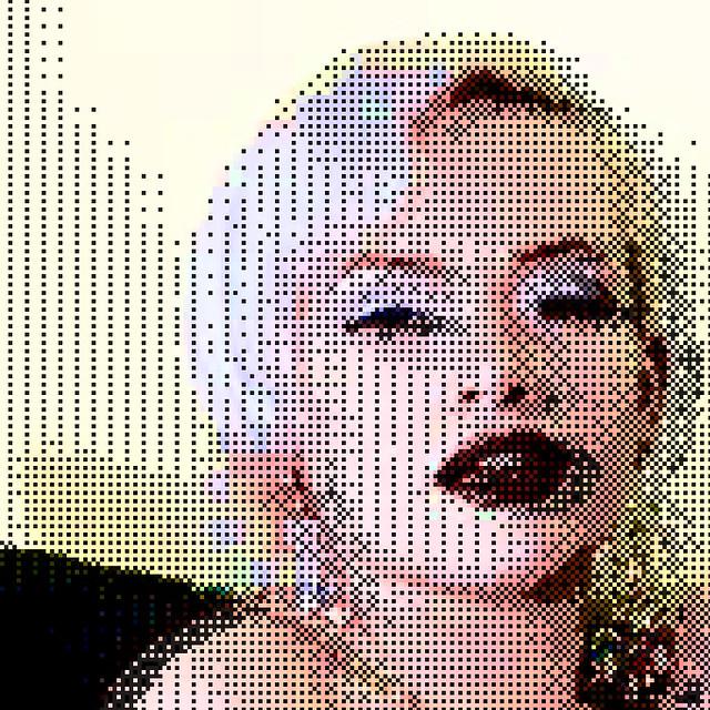 pixel portrait [the exploration of a pixel]   pixel ...