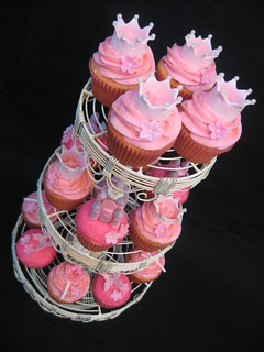 Princess Cupcake Tower | by Bella Cupcakes (Vanessa Iti)