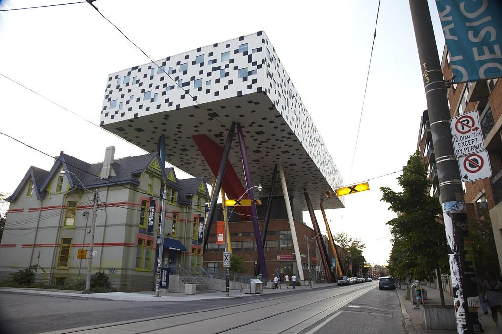 High Tech Architektur: École D'art Et De Design De L'Ontario