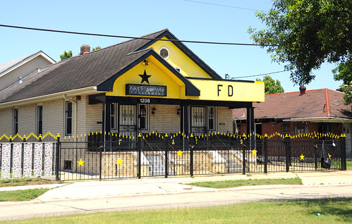 Fats Domino S House And Office In New Orleans 9th Ward