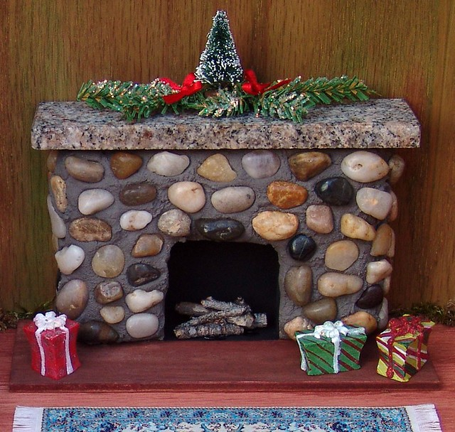 Miniature Dolls House Fireplace   This fireplace fairy ...